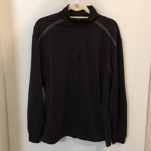 Greg Norman Black Quarter Zip Pullover